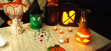 Succès pour la marche Halloween de la Maison pour Tous